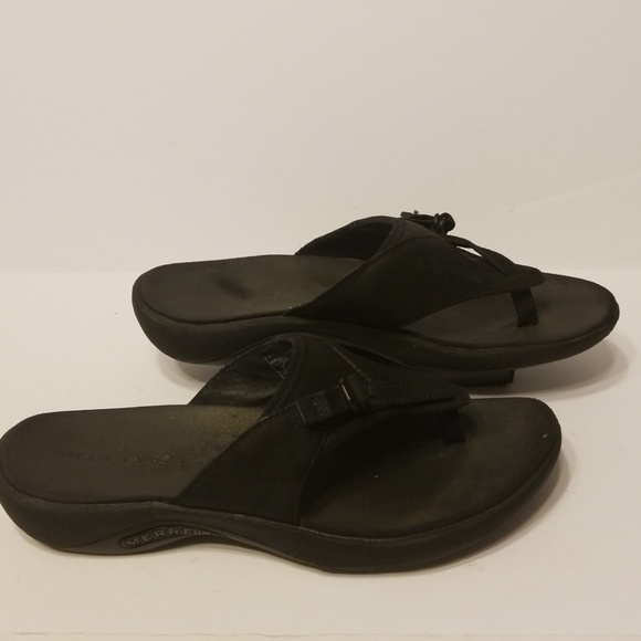 b338f81784ca Merrell slide sandals women s shoes size 8. M 5b032006caab442eb374744d